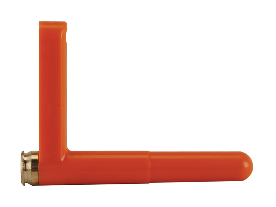 Safe Tech Saf-T-Round Chamber Safety Flag 223 Remington Brass and Polymer Orange