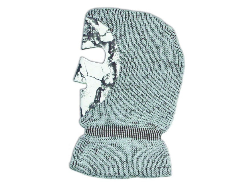 Natural Gear Winter Face Mask Polyester Natural Gear Snow Camo