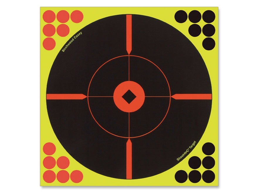 "Birchwood Casey Shoot-N-C 12"" BMW Bullseye Targets Package 5"
