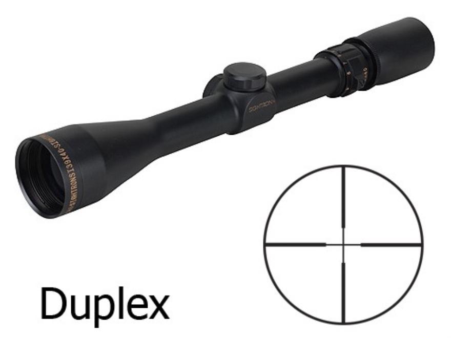 Sightron SI Rifle Scope 3-9x 40mm Duplex Reticle Matte