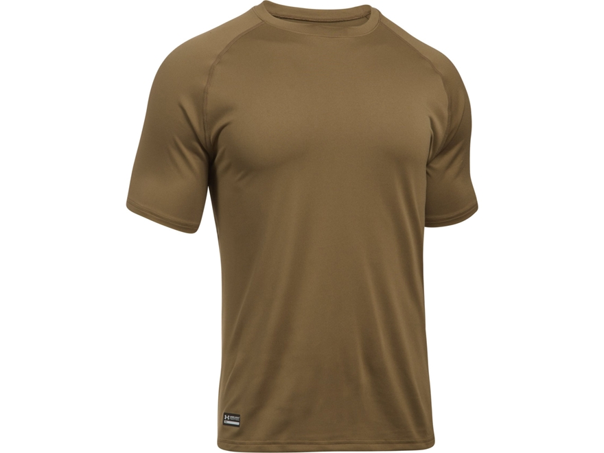 Under Armour Men 39 S Ua Tac Tech T Shirt Short Sleeve Polyester