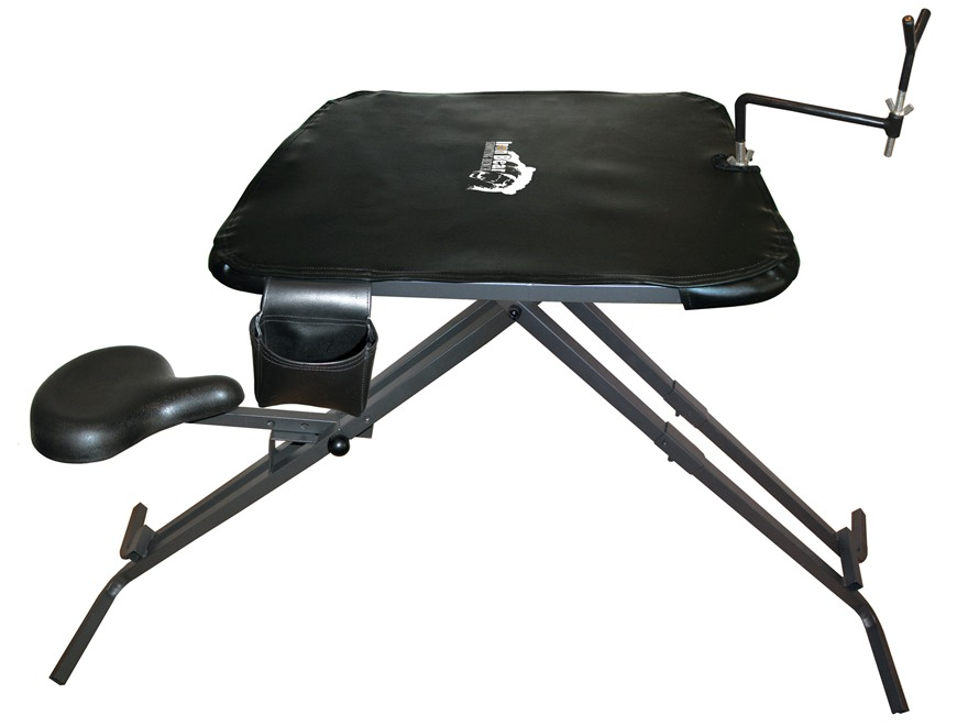 Do-All Iron Bear Portable Shooting Bench Steel Black