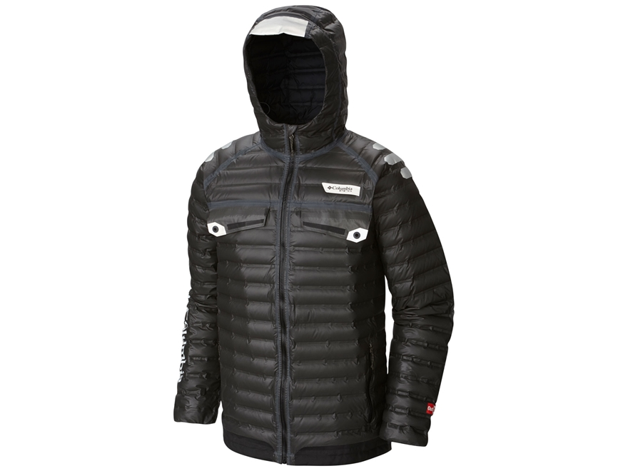 Columbia Men's PFG Force 12 Waterproof Insulated Jacket Synthetic Blend