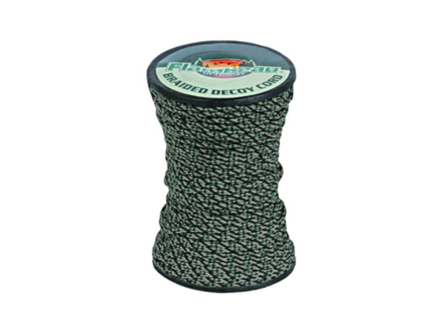 Flambeau Braided Decoy Cord 200' Nylon Black