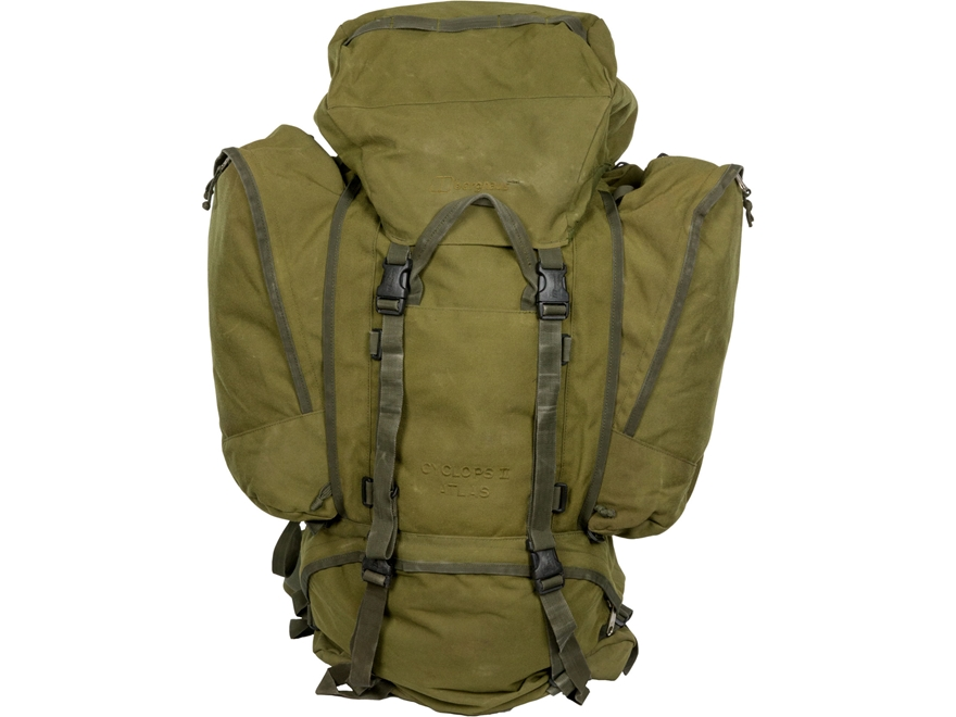 Military Surplus German 110L Rucksack Grade 2 Olive Drab