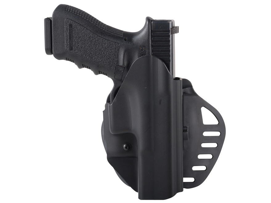 Hogue PowerSpeed Concealed Carry Holster Outside the Waistband (OWB) Glock 17, 22, 31, ...