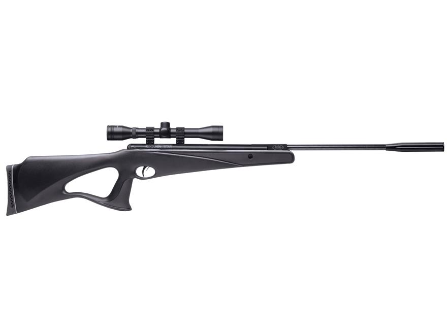 Benjamin Titan Nitro Piston Break Barrel Air Rifle 177 Caliber Pellet Black Synthetic S...