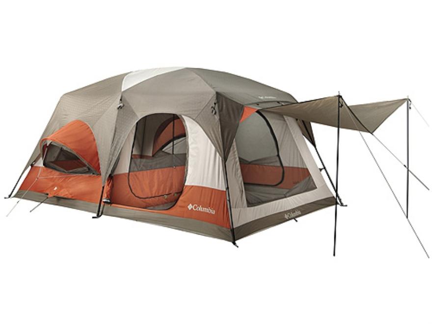 Columbia Cougar Flats Ii 8 Man Cabin Tent 180 X 120 Upc