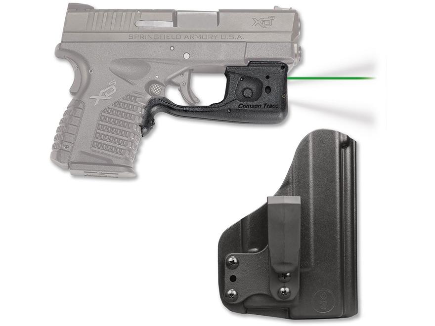 Crimson Trace Laserguard Pro Weapon Light White LED with Laser Sight Springfield XD-S B...