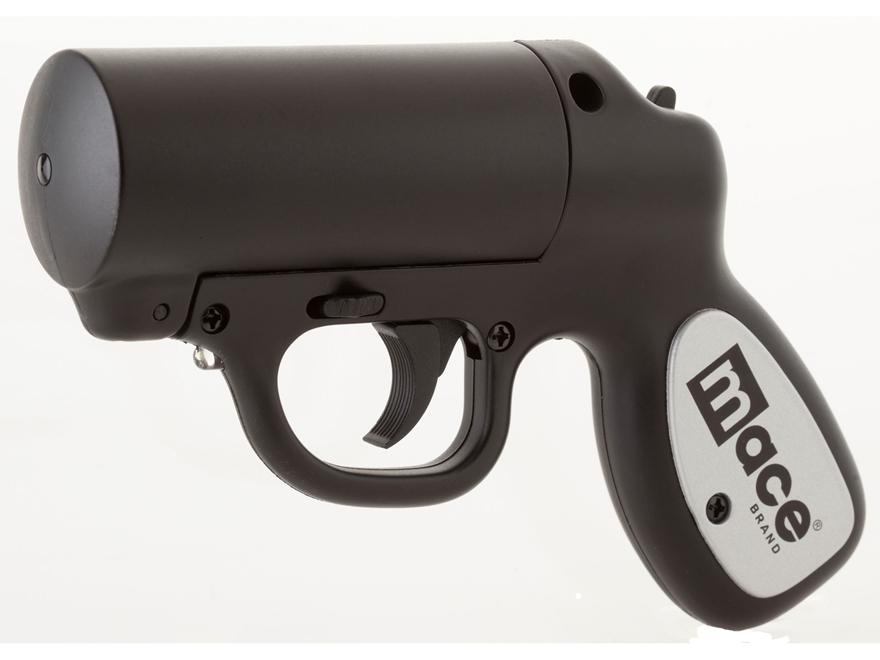 Mace Brand Pepper Gun with LED Light Pepper Spray 28 Gram Aerosol Includes OC Cartridge...