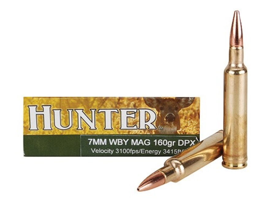 Cor-Bon DPX Hunter Ammunition 7mm Weatherby Magnum 160 Grain Barnes Triple-Shock X Bull...
