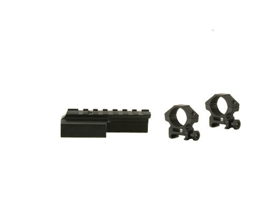 "Leapers UTG Deluxe Weaver-Style Mount with 1"" Rings M1 Carbine Matte"