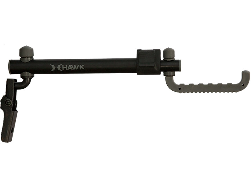 Hawk Xtendable Bow Hanger Steel Black