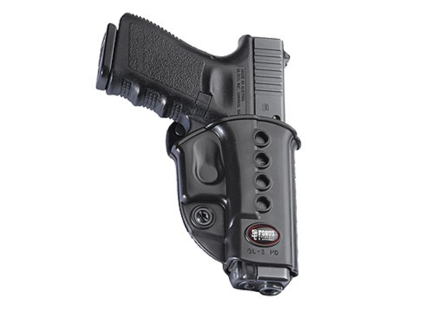 Fobus Evolution Belt Holster Right Hand Glock 17, 19, 34, Walther PK380, KAHR CW40, P45...