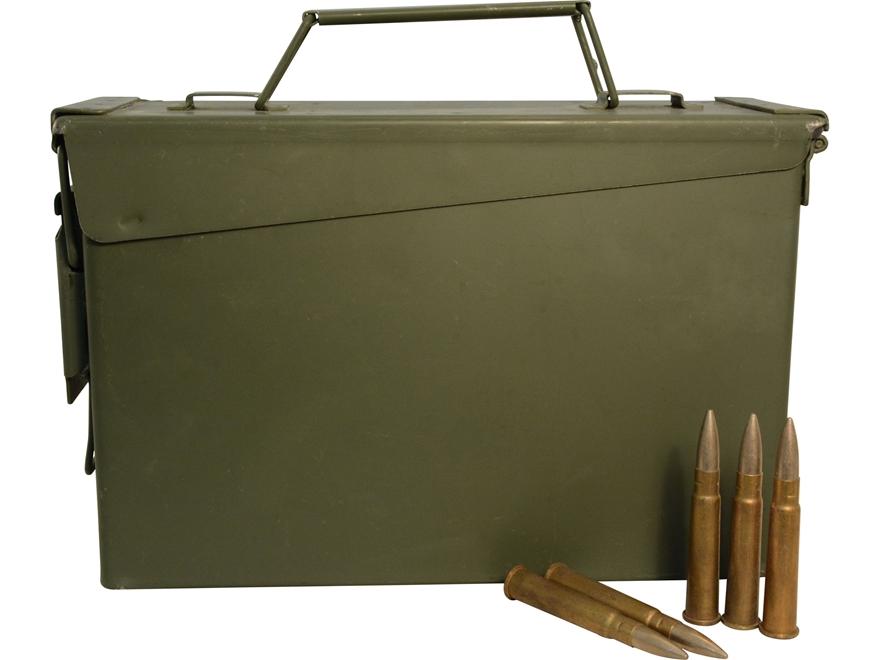 Military Surplus (UK) Ammunition 303 British 174 Grain Full Metal Jacket Berdan Primed ...