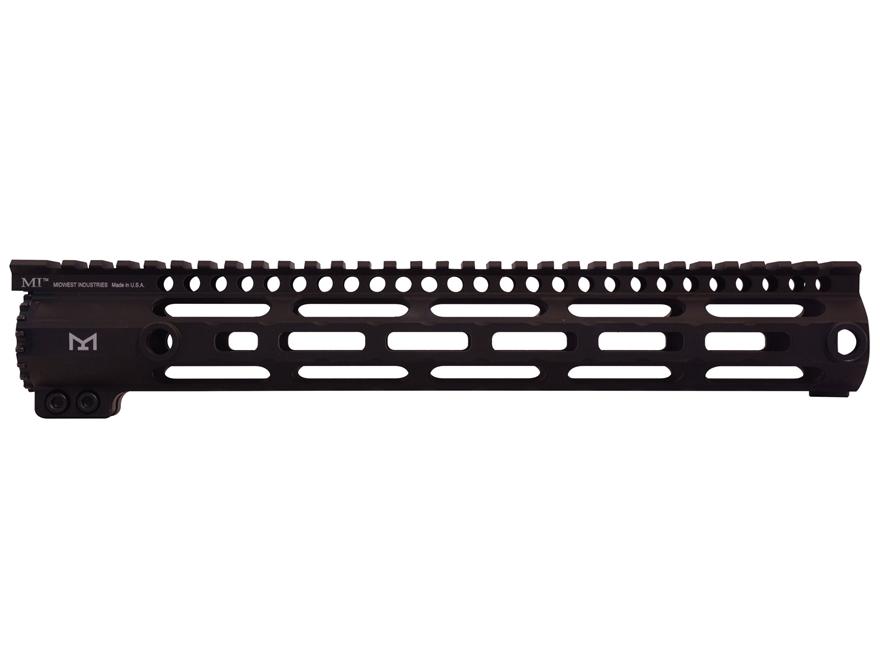 Midwest Industries SS-Series Free Float M-Lok Handguard DPMS GII Aluminum Black