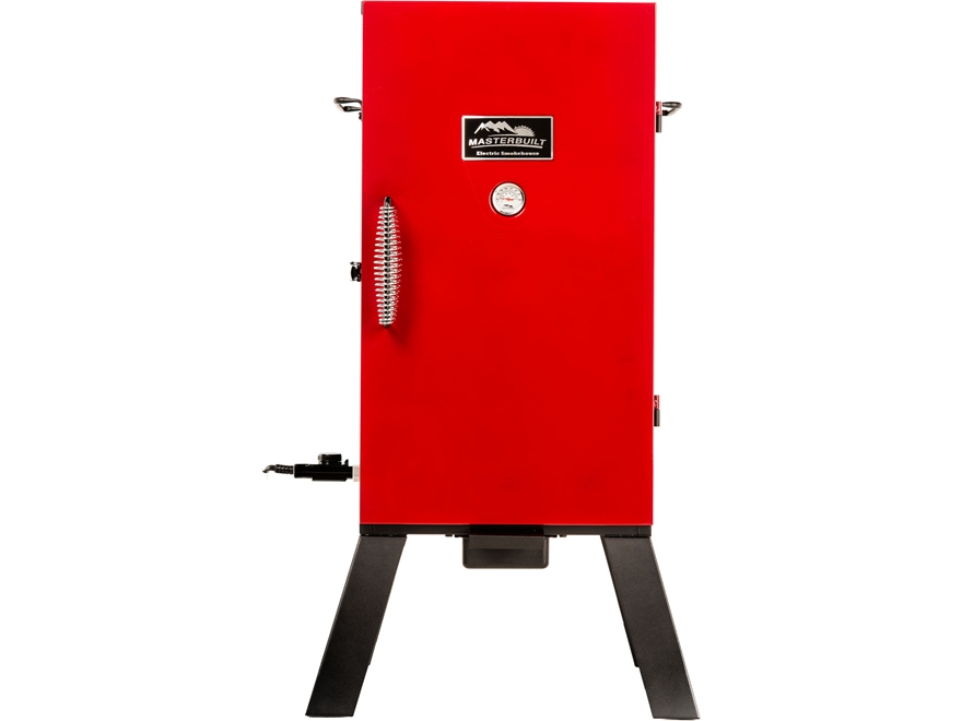 "Masterbuilt 30"" Analog Electric Smoker with Red Door"