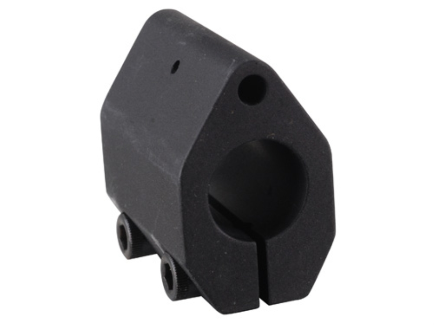 "EGW Clamp On Low Profile Gas Block AR-15, LR-308 .625"" Inside Diameter Aluminum Matte"