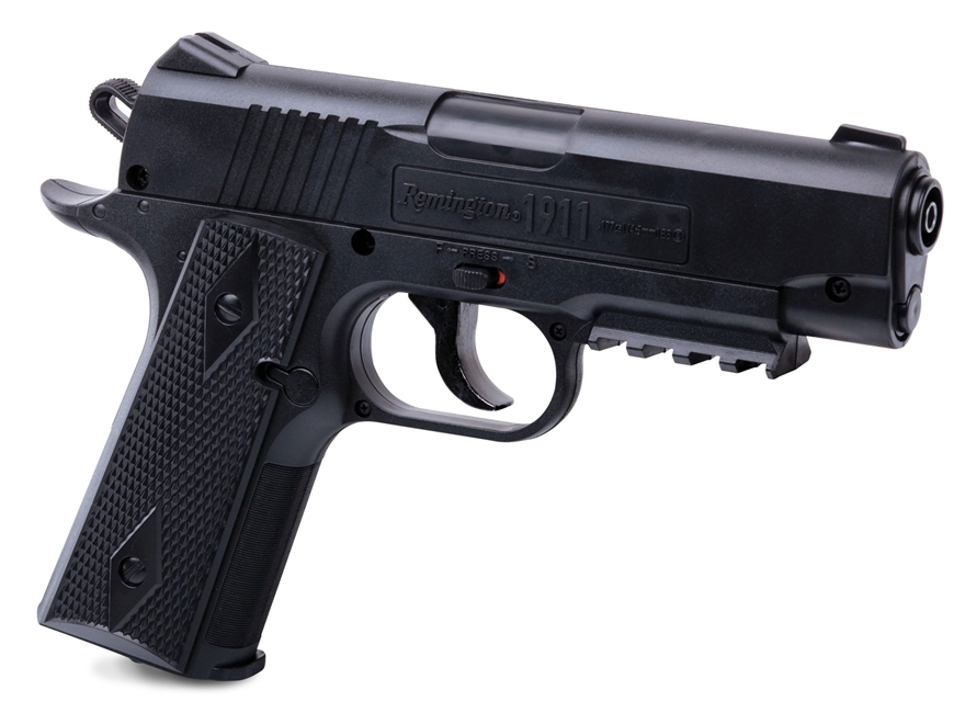 Remington 1911 Air Pistol 177 Caliber BB Black