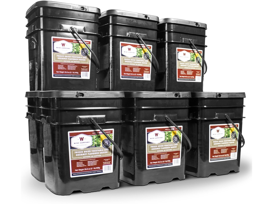 Wise Food 1080 Serving Vegetable Freeze Dried Food Kit