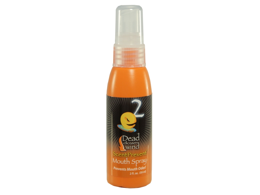 Dead Down Wind Scent Elimination Mouth Spray 2 oz