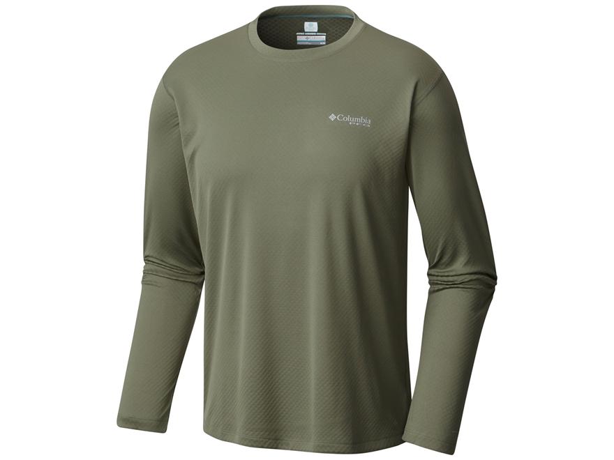 Columbia Men's PFG Zero Rules T-Shirt Long Sleeve Polyester