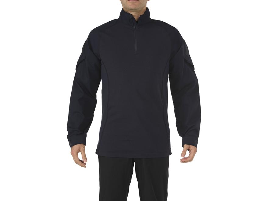 5.11 Men's Rapid Assault Shirt Long Sleeve Cotton/Poly Blend