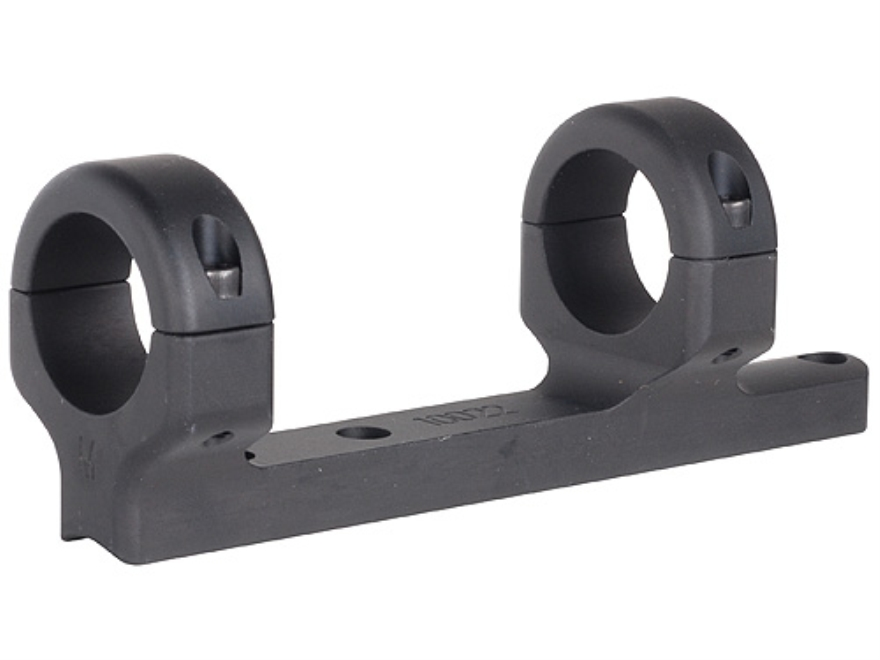 """DNZ Products Game Reaper 1-Piece Scope Base with 1"""" Integral Rings CVA Black Powder"""
