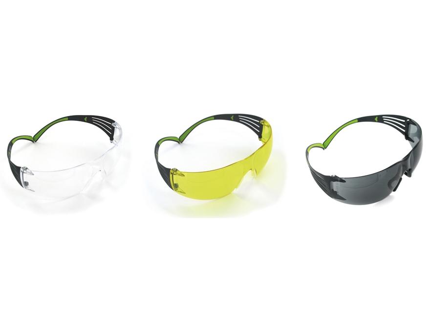 Peltor SecureFit 400 Shooting Glasses Kit Clear Gray and Amber Lenses