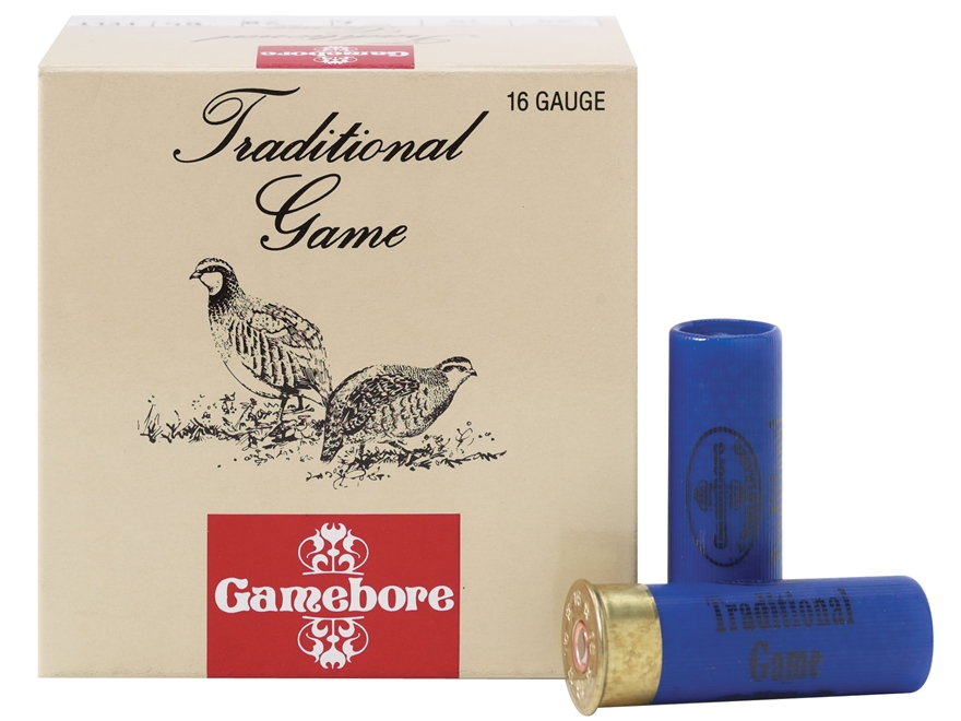 "Kent Cartridge Gamebore Game and Hunting Ammunition 16 Gauge 2-1/2"" 1 oz #6 Shot"