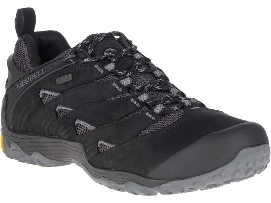 """Merrell Chameleon 7 4"""" Waterproof Hiking Shoes Leather/Nylon Men's"""