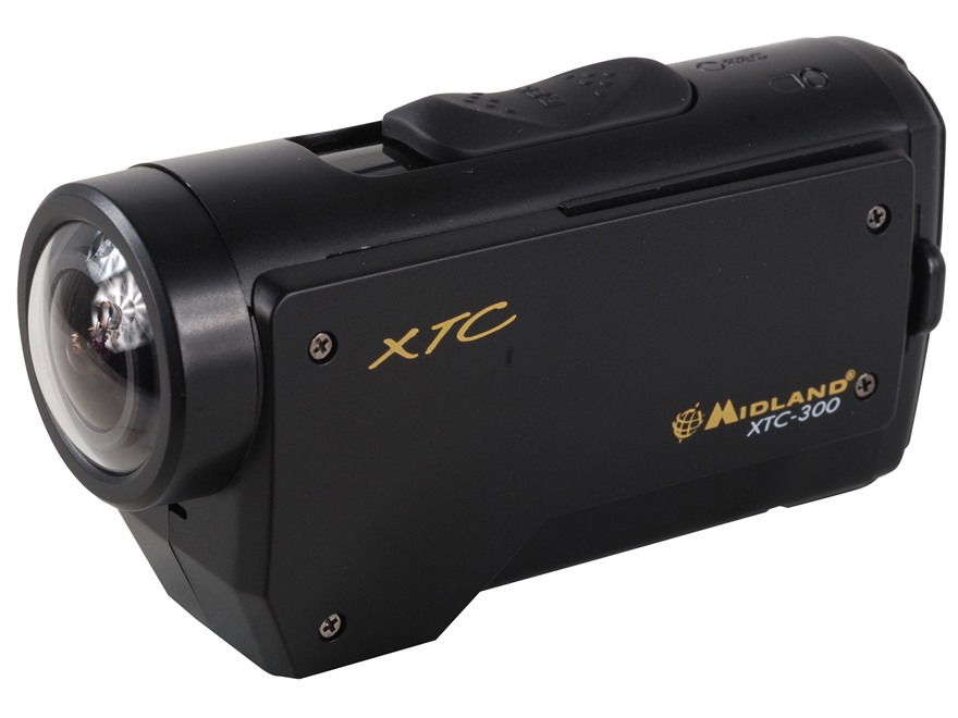 Midland XTC-300 1080P HD Action Camera Kit Silver and Black