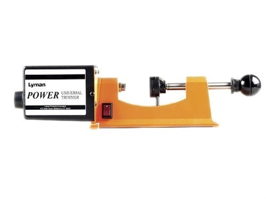 Lyman Power Trimmer with 9-Pilot Multi-Pack 220 Volt