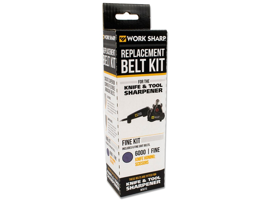 Work Sharp Fine 6000 Grit Belt Accessory Kit