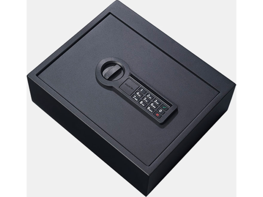 Stack-On Personal Drawer Safe with Electronic Lock Black