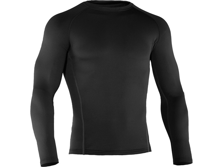 Under Armour Men's Base 2.0 Crew  Base Layer Shirt Polyester Black Large 42-44