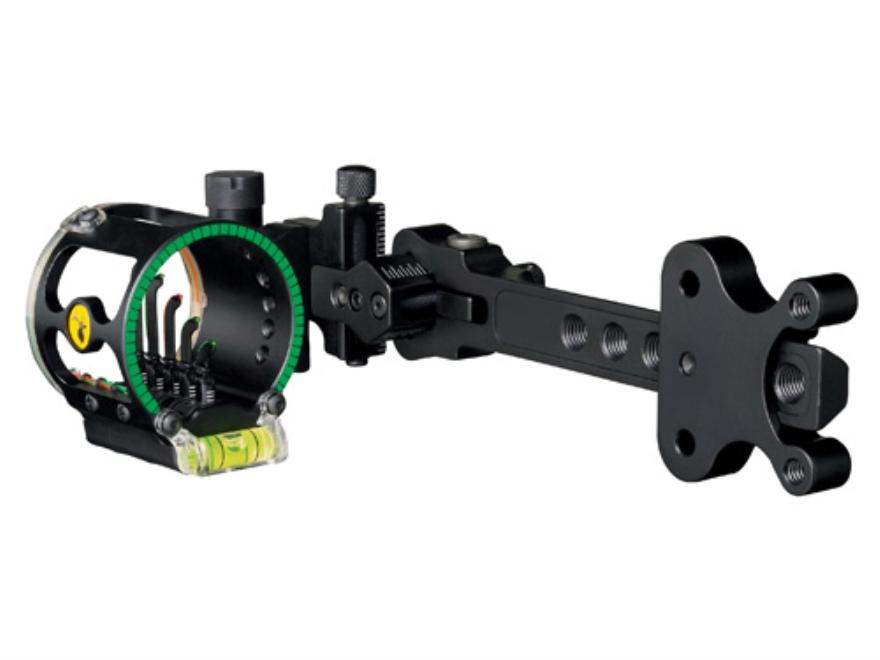 "Trophy Ridge Alpha V5 Micro Bow Sight .019"" Pin Diameter Right Hand Aluminum Black"