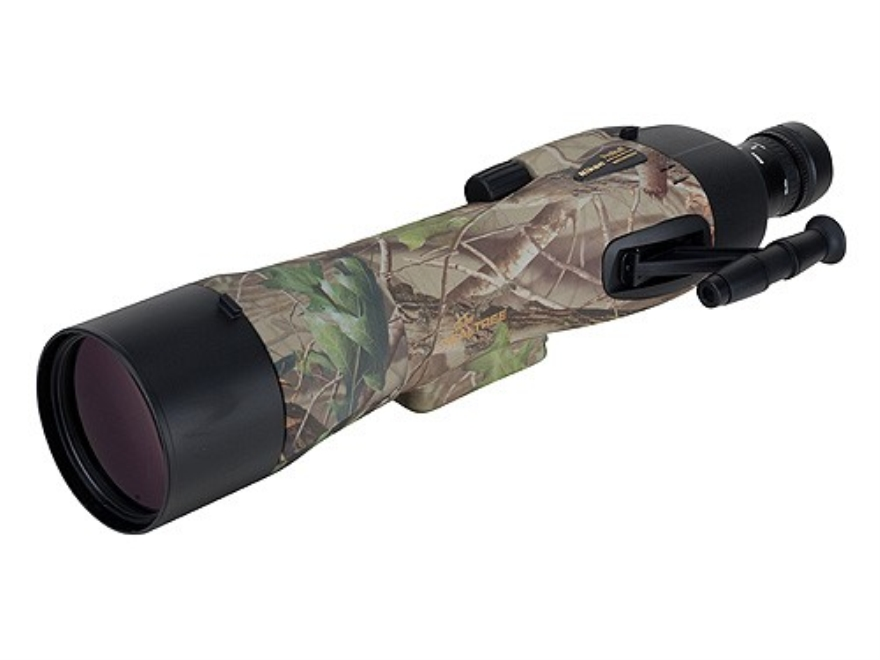 Nikon Prostaff Spotting Scope 20-60x 82mm Straight Body Armored Realtree Hardwoods Gree...