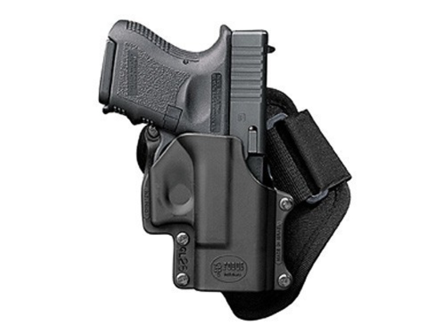 Fobus Ankle Holster Right Hand Sig Sauer P230, P232 Polymer Black