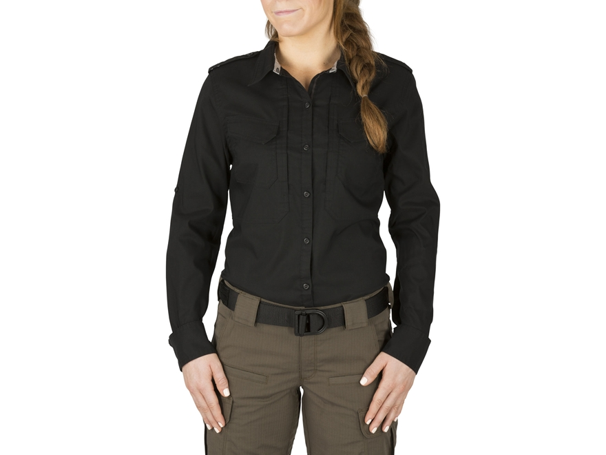 5.11 Women's Spitfire Shooting Shirt Long Sleeve Cotton/Poly Blend