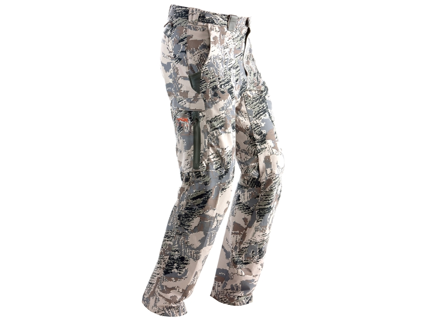 Sitka Gear Men's Ascent Pants Polyester Gore Optifade Open Country Camo 34 Waist