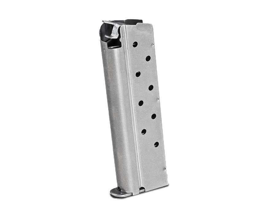 Springfield Armory Magazine 1911 Government, Commander 40 S&W 8-Round Stainless Steel