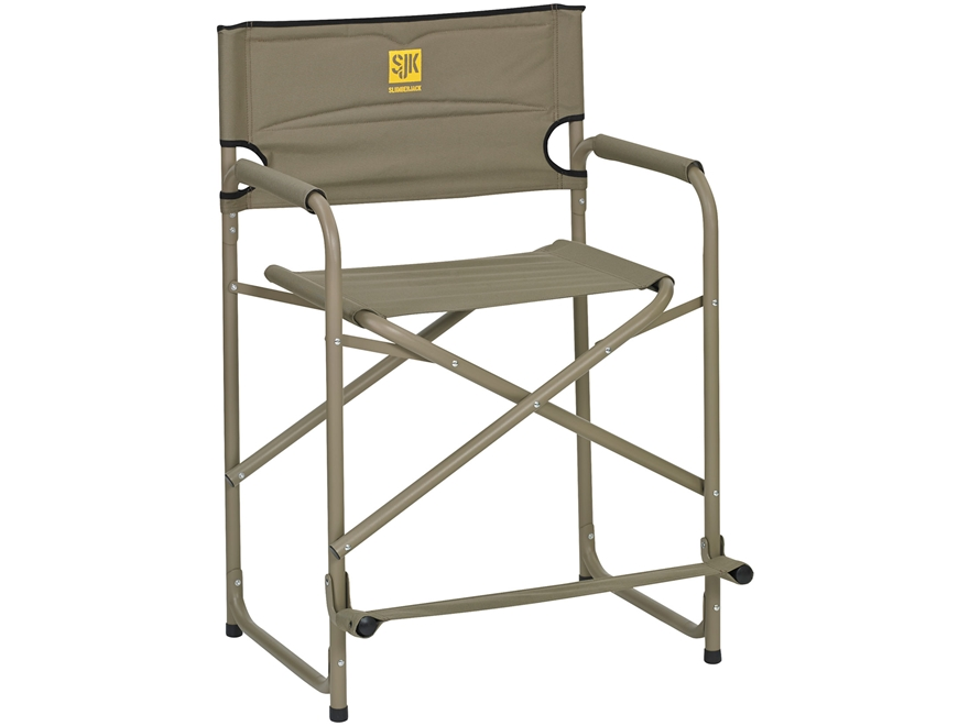 Slumberjack Big Tall Steel Camp Chair Polyester and Steel Green