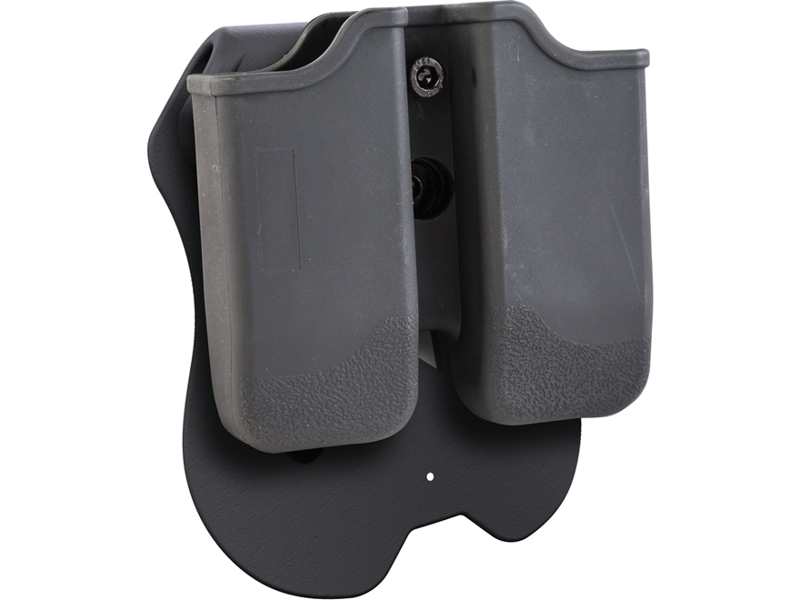 Caldwell Tac Ops Paddle Double Magazine Pouch Right Hand Glock Double-Stack 9mm Luger, ...