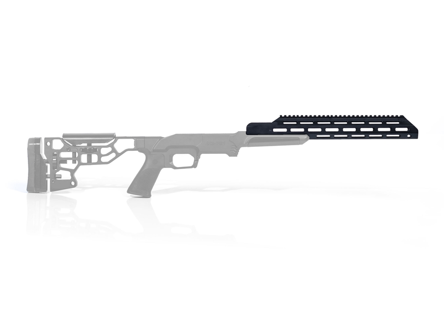MDT ESS Forend with Full Top Rail Aluminum Black