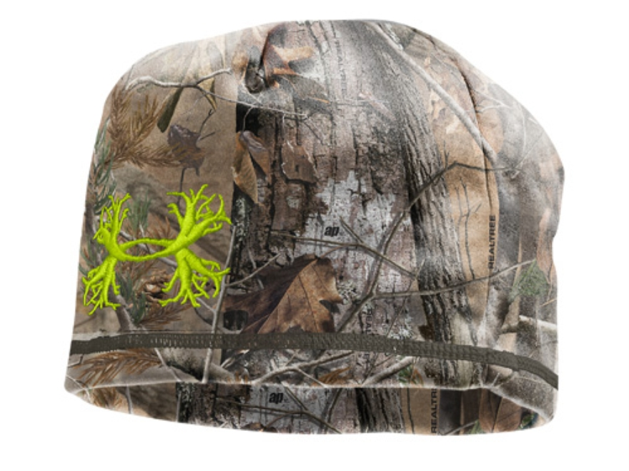Under Armour Dead Calm Scent Control Beanie Polyester Realtree AP L/XL