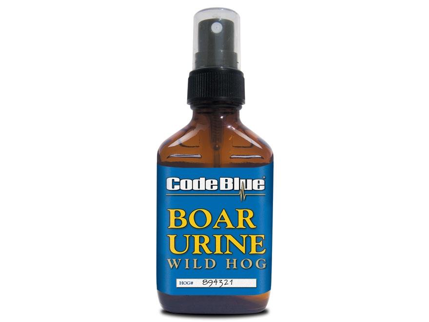 Code Blue Boar Urine Hog Scent Liquid 2 oz