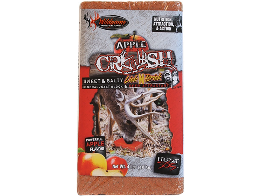 Wildgame Innovations Apple Crush Deer Attractant Block 4 lb