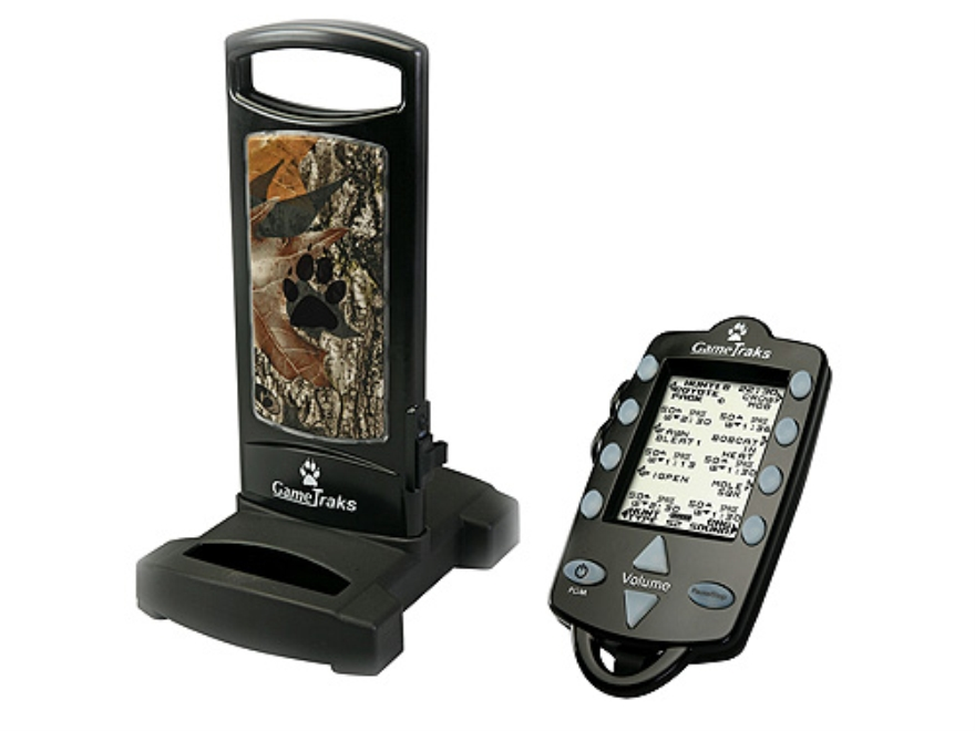 Game Traks GT100 Electronic Predator Call with 35 Digital Sounds Black