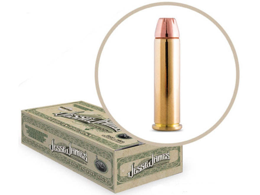 Jesse James TML Ammunition 38 Special 125 Grain Jacketed Hollow Point Box of 50